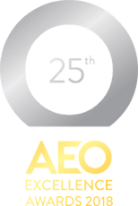 AEO awards 2018 logo